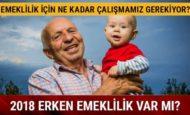 ERKEN YAŞTA EMEKLİLİK !
